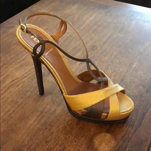 Fendi Shoes   Fendi Strappy Sandal